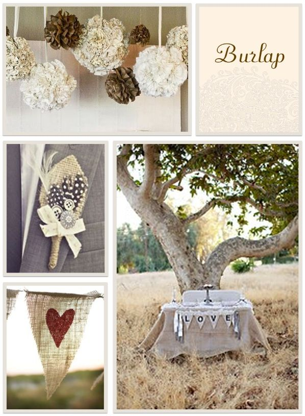 EV Photo Chic: Inspired by: DIY Wedding Materials