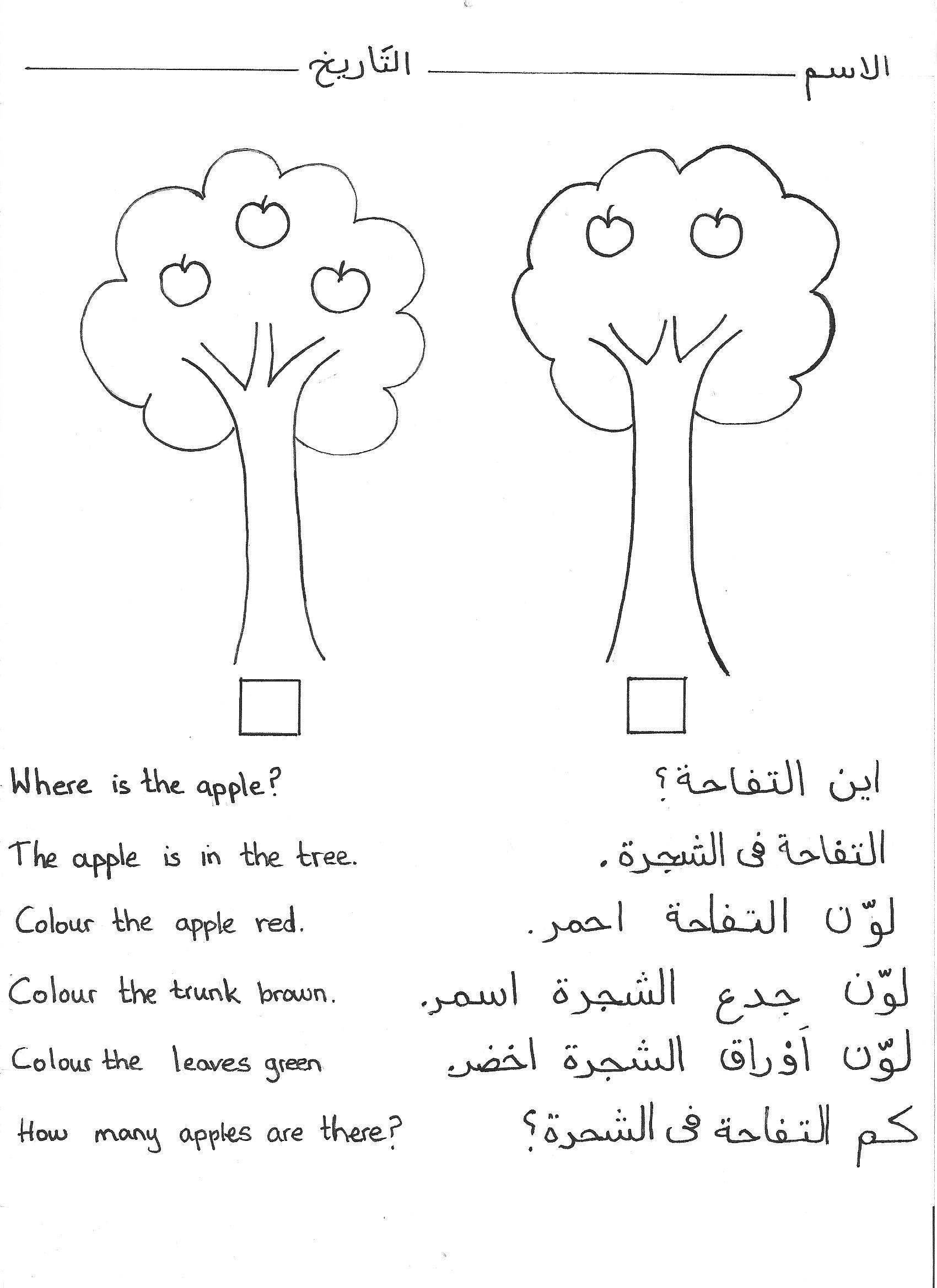Pin By Om Jamal On Arabic School