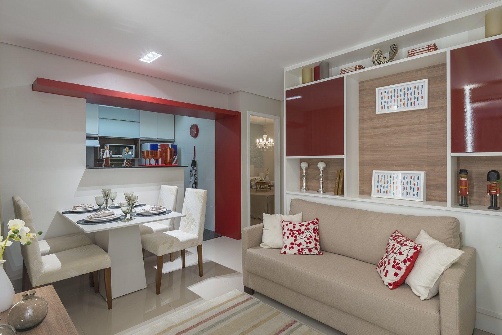 Apartamento Decorado Pequeno Cozinha Oppenau Info