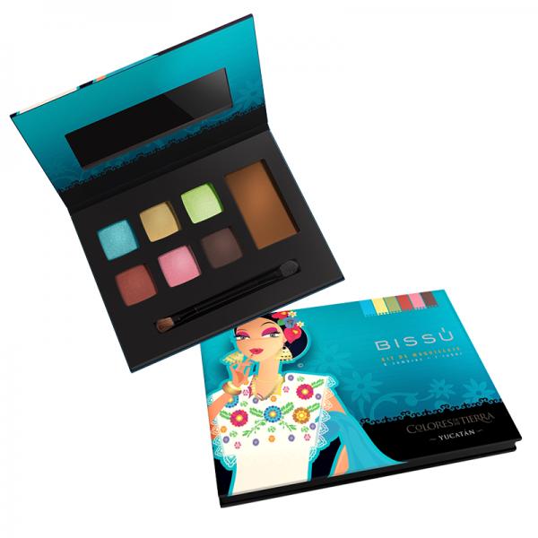 af57ff13b TIENDA EN LÍNEA BISSÚ   Rostro   Kit Colores de Mi Tierra Tips De Maquillaje ,