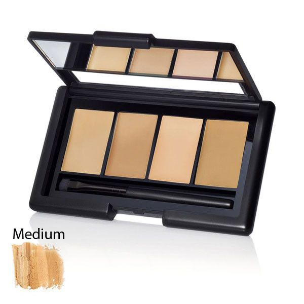 Pictures of e.l.f. Studio Complete Coverage Concealer-One of the best concealer palettes I've used and the price is great!