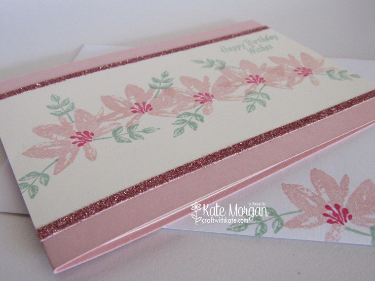 Birthday Cards Melbourne ~ Avant garden stampin up by kate morgan independent demonstrator
