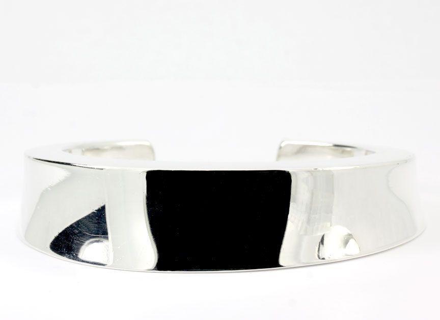 Vintage Anreas Mikkelsen Georg Jensen Denmark Sterling Silver Wide Cuff Bracelet #AndreasMikkelsenGeorgJensen #Cuff