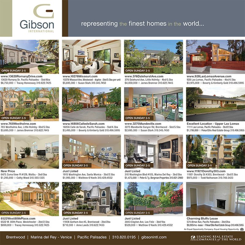 Did you see our ad in the LA Times Sunday edition? Your new home is featured, which one will it be?