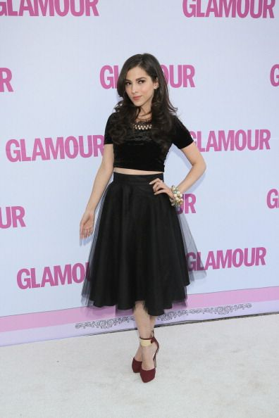 Paty Cantu attends the Glamour Magazine Mexico Beauty Awards 2013 at Museo Rufino Tamayo on February 13 2014 in Mexico City Mexico