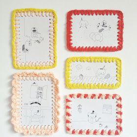 Petit Pot: Crocheting paper