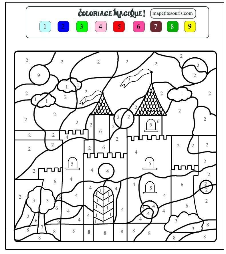 log in or sign up to view coloriage magiquedessin coloriagecoloriage chateaumoyen gechateau princessecoloriage - Coloriage Chateau Princesse