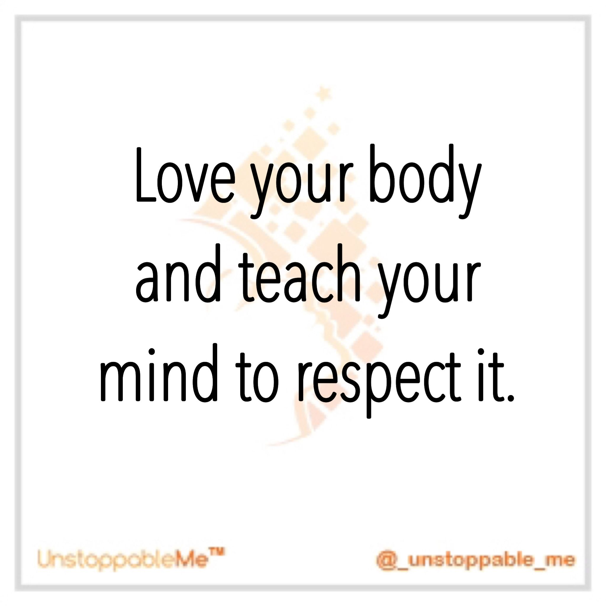 Love Respect Quotes Love And Respect.it's Not Just For Others  It's For Ourselves