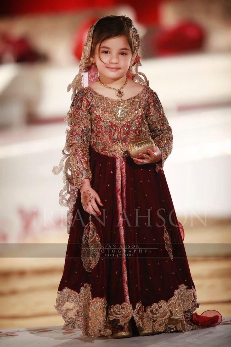 Kids Fancy dresses 2016 in Pakistan-velvet | Style.Pk ...