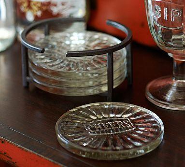 Mack Drink Coaster, Set of 4 #potterybarn