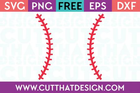 Baseball Stitches Design | Cricut | Free svg cut files, Cricut svg