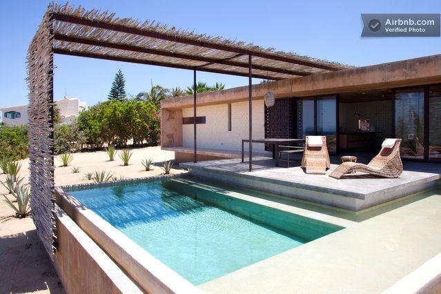 Todos Santos Vacation Rentals Short Term Rentals Airbnb Beach House Design Rustic Beach House Modern Beach House
