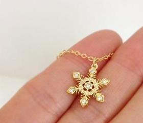 snowflake charm for coming christmas