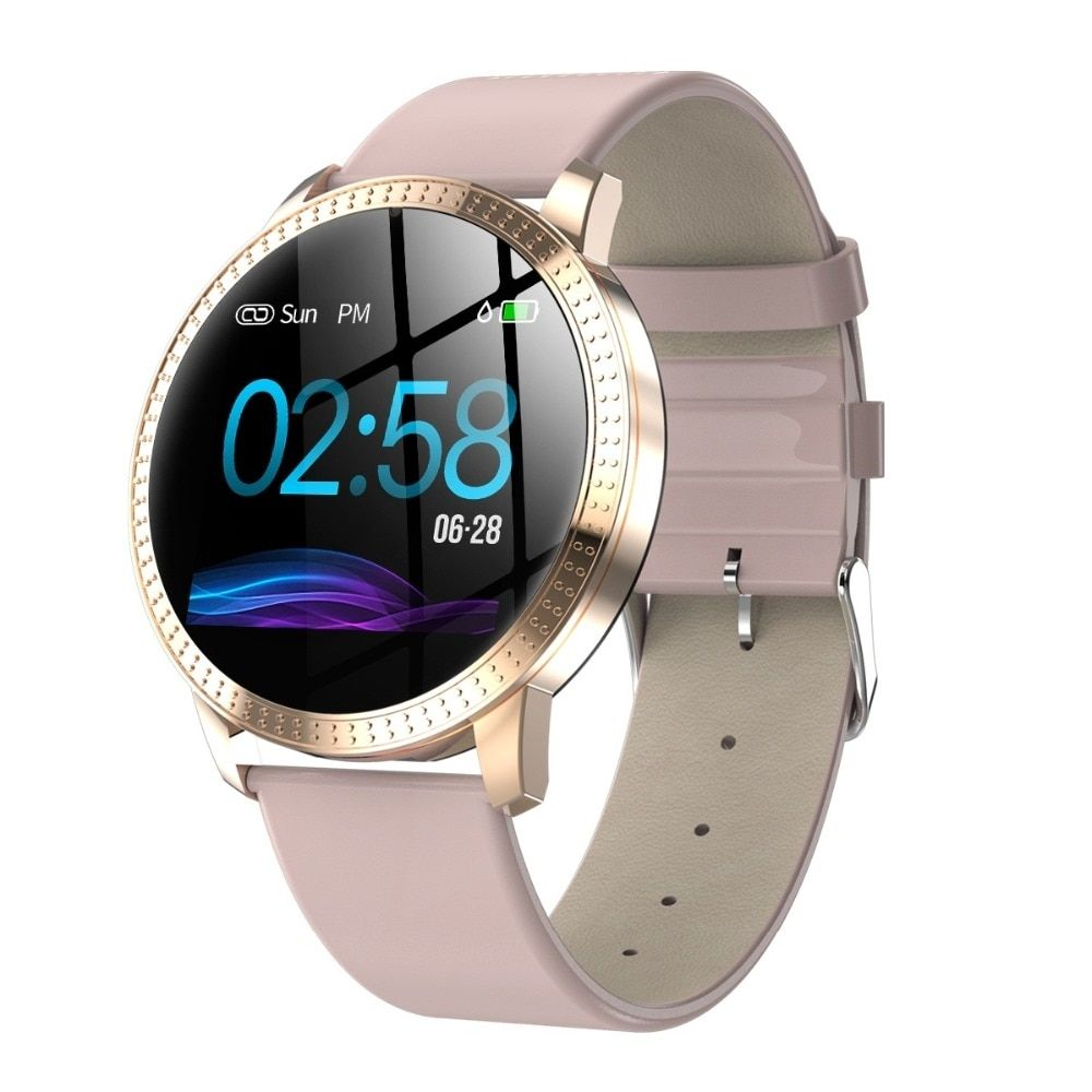 Buy round screen fashion design smart watch with images