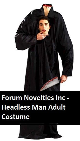 Forum Novelties Inc  Headless Man Adult Costume halloween sound effects  easy couple costumes halloween costumes halloween costume costume halloween crafts for toddlers...