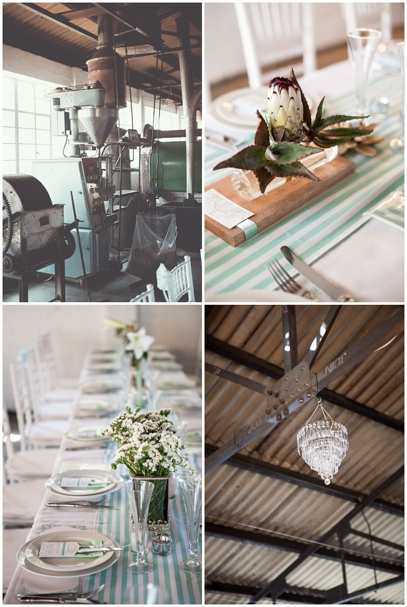 a wedding in a coffee factory - www.vanillaphotography.co.za