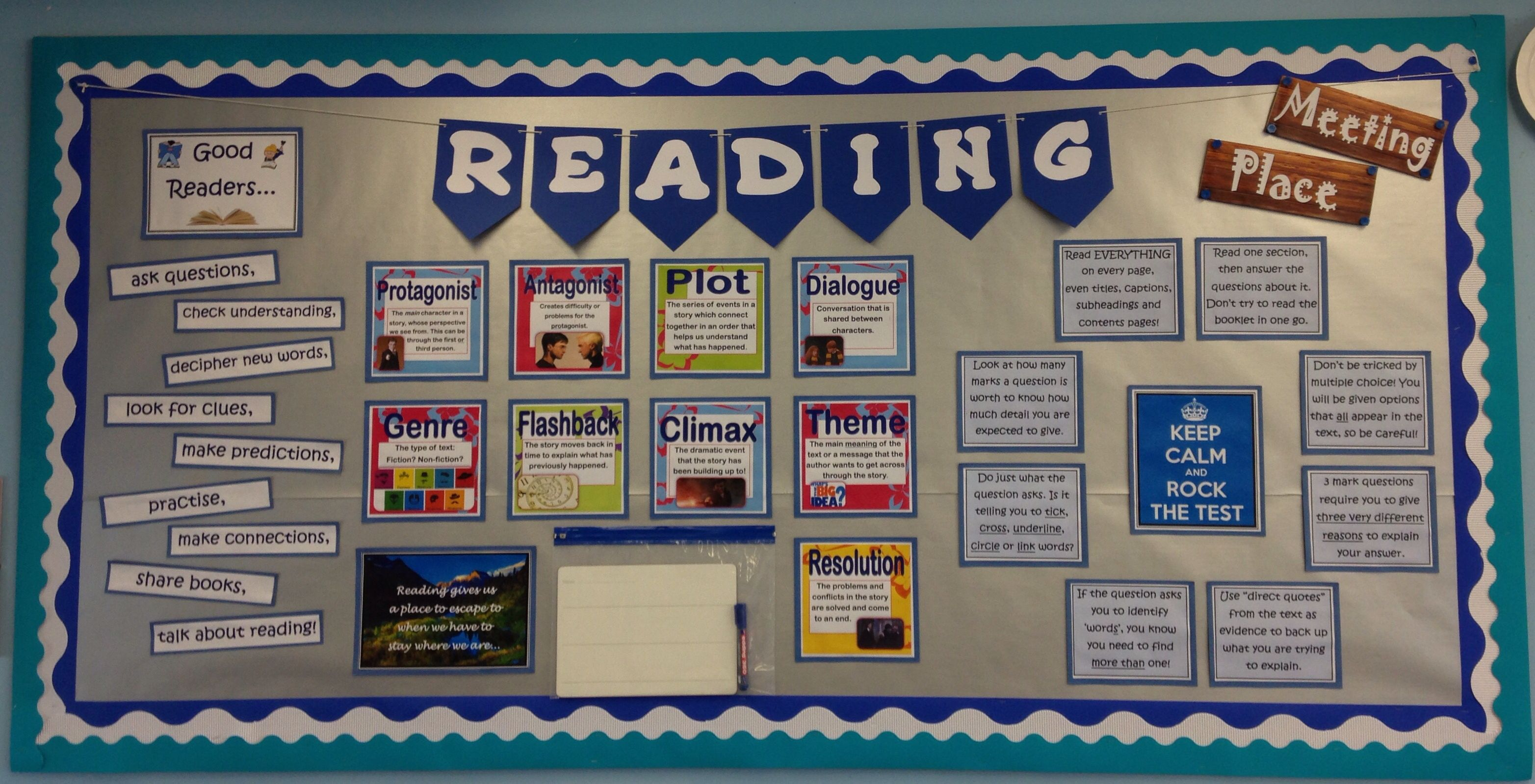 My Guided Reading Display Group Meeting Place Ks2 Year 6