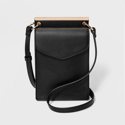 7e194b82d9 $24.99   Target   Framed Mini Crossbody Bag - A New Day™ Black   Bag ...