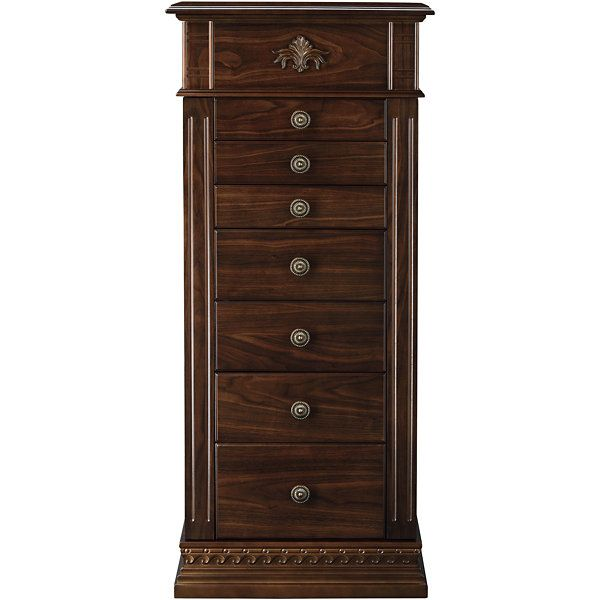 Monet Jewelry Chestnut Jewelry Armoire JCPenney Style