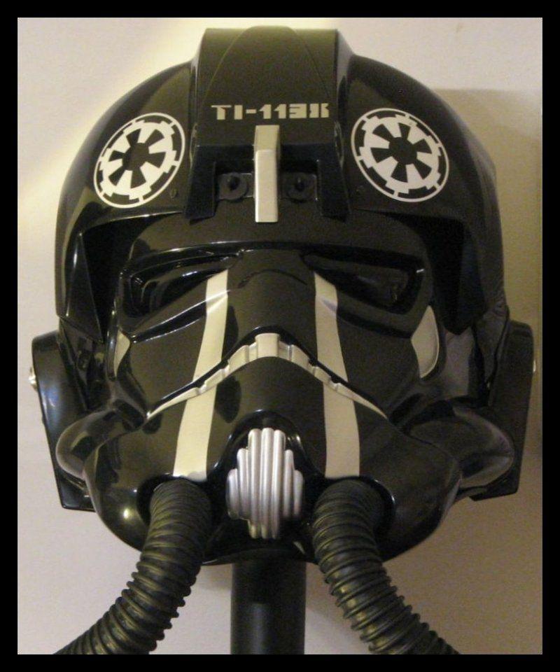 TIE Fighter Pilot helmet (elite) by jkno4u.deviantart.com ... Tie Fighter Pilot Helmet