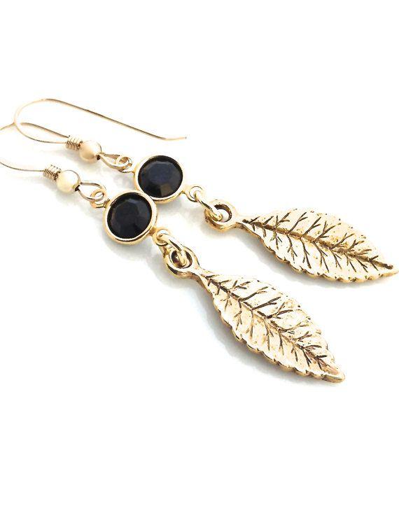 feather earrings <3