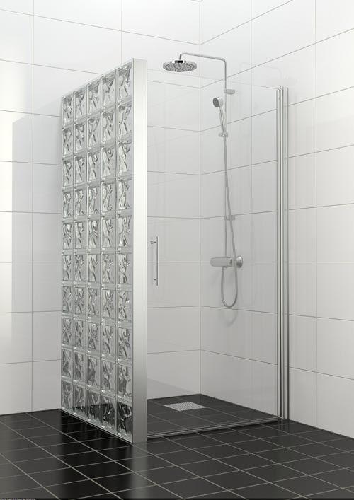 duschvägg av glasbetong tellus6 (500×707)   huset   pinterest, Hause ideen