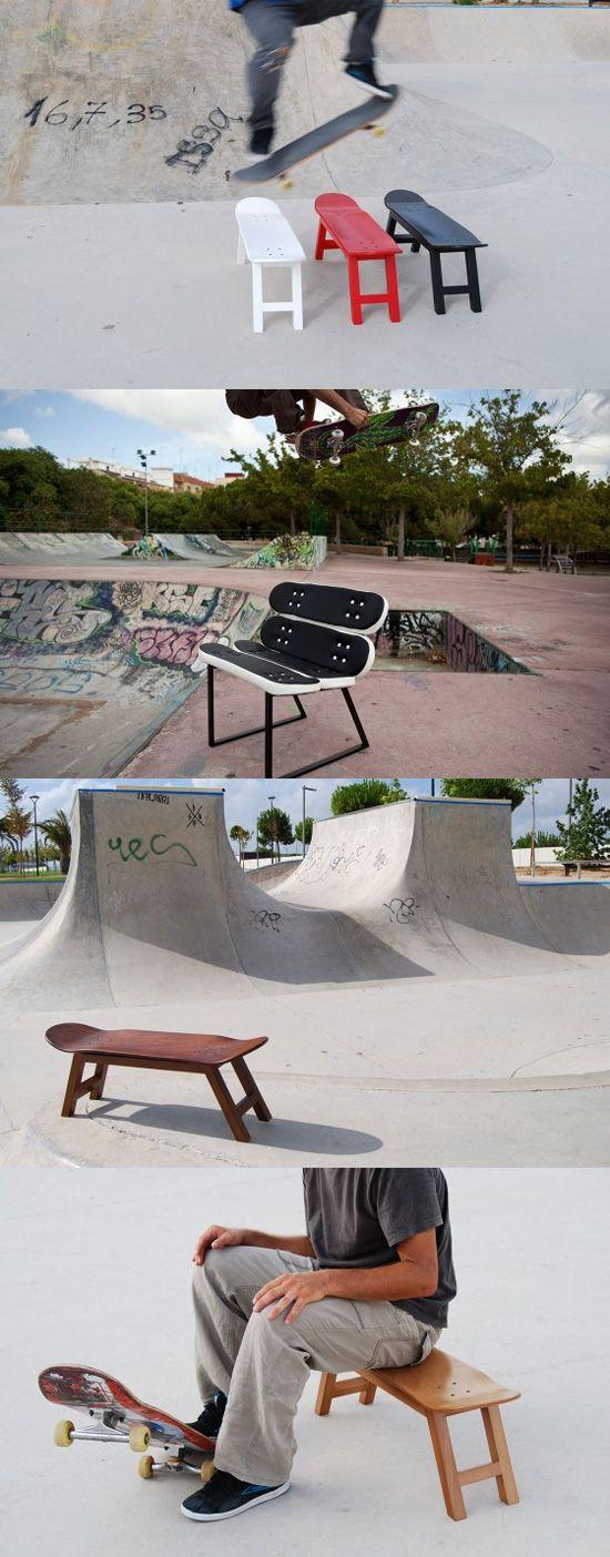 Decoración tablas skate