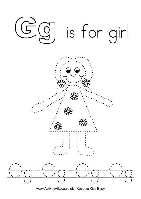 tracing alphabet g smart kids printables pinterest kids alphabet preschool. Black Bedroom Furniture Sets. Home Design Ideas