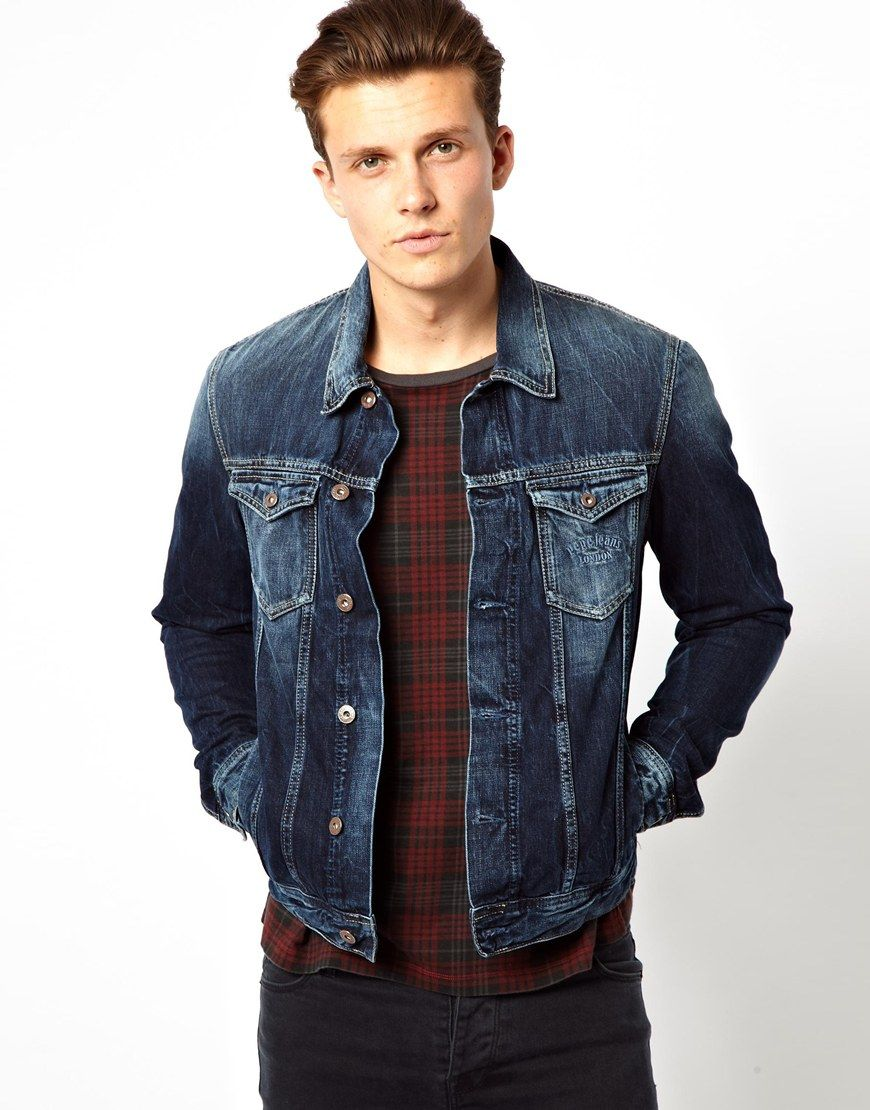 Pin by Lookastic on Denim Jackets in 2019  e09a87322