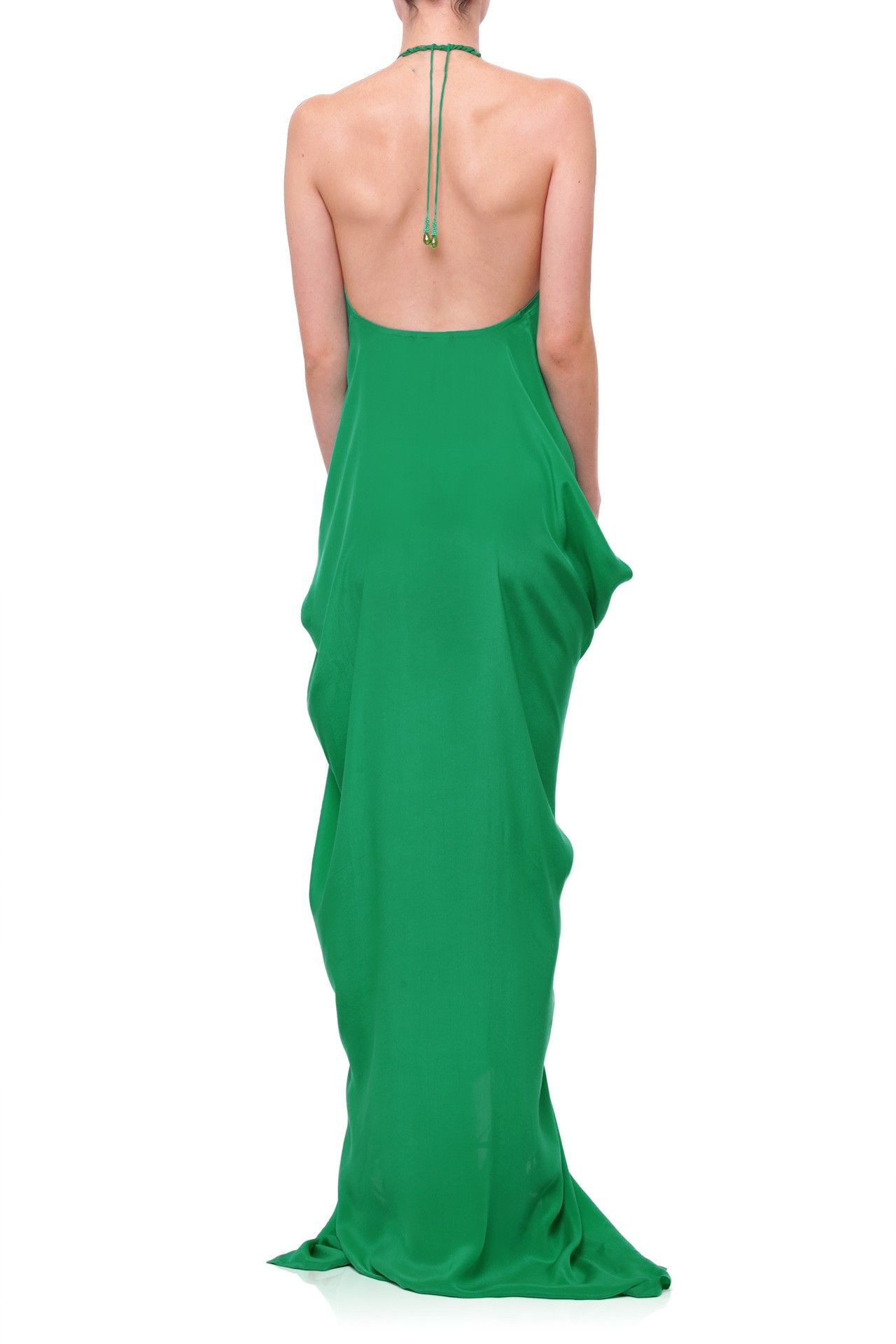 Emerald green silk kaftan dress designer kaftans pinterest