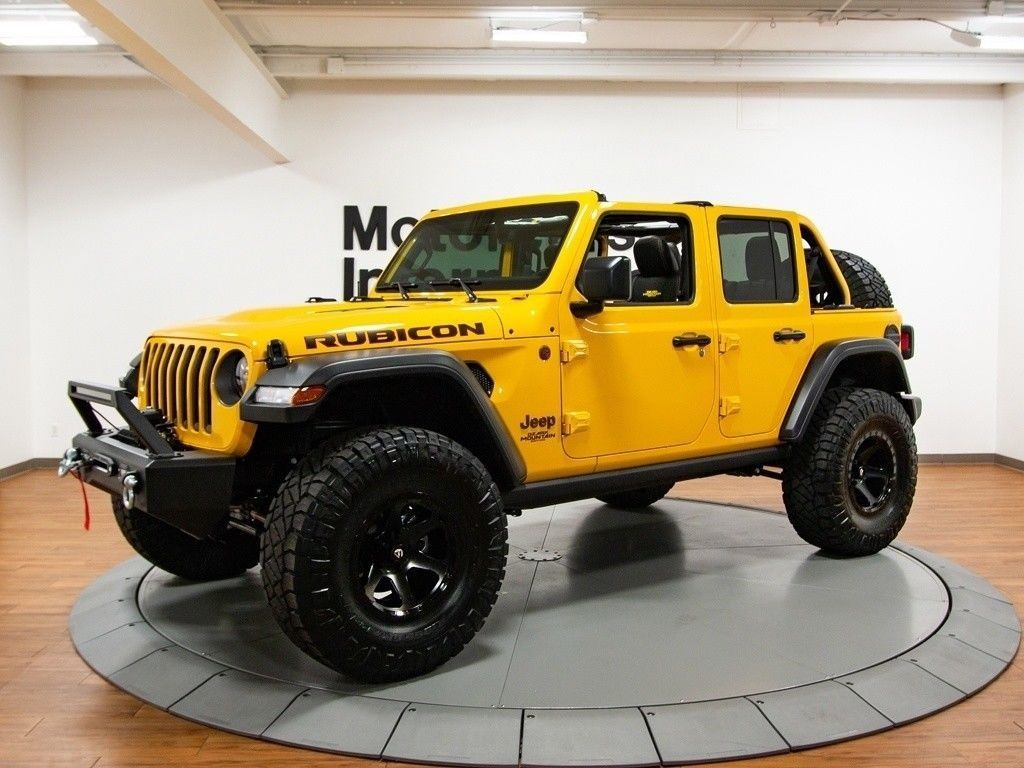 2018 Jeep Wrangler Jl Unlimited Rubicon Ozark Mountain Edition 248