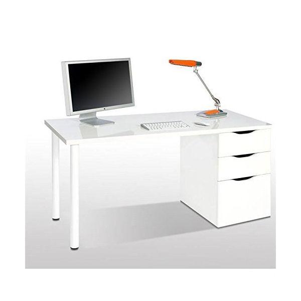Mesa de escritorio athena 125 novedades primavera - Mesas estudio conforama ...