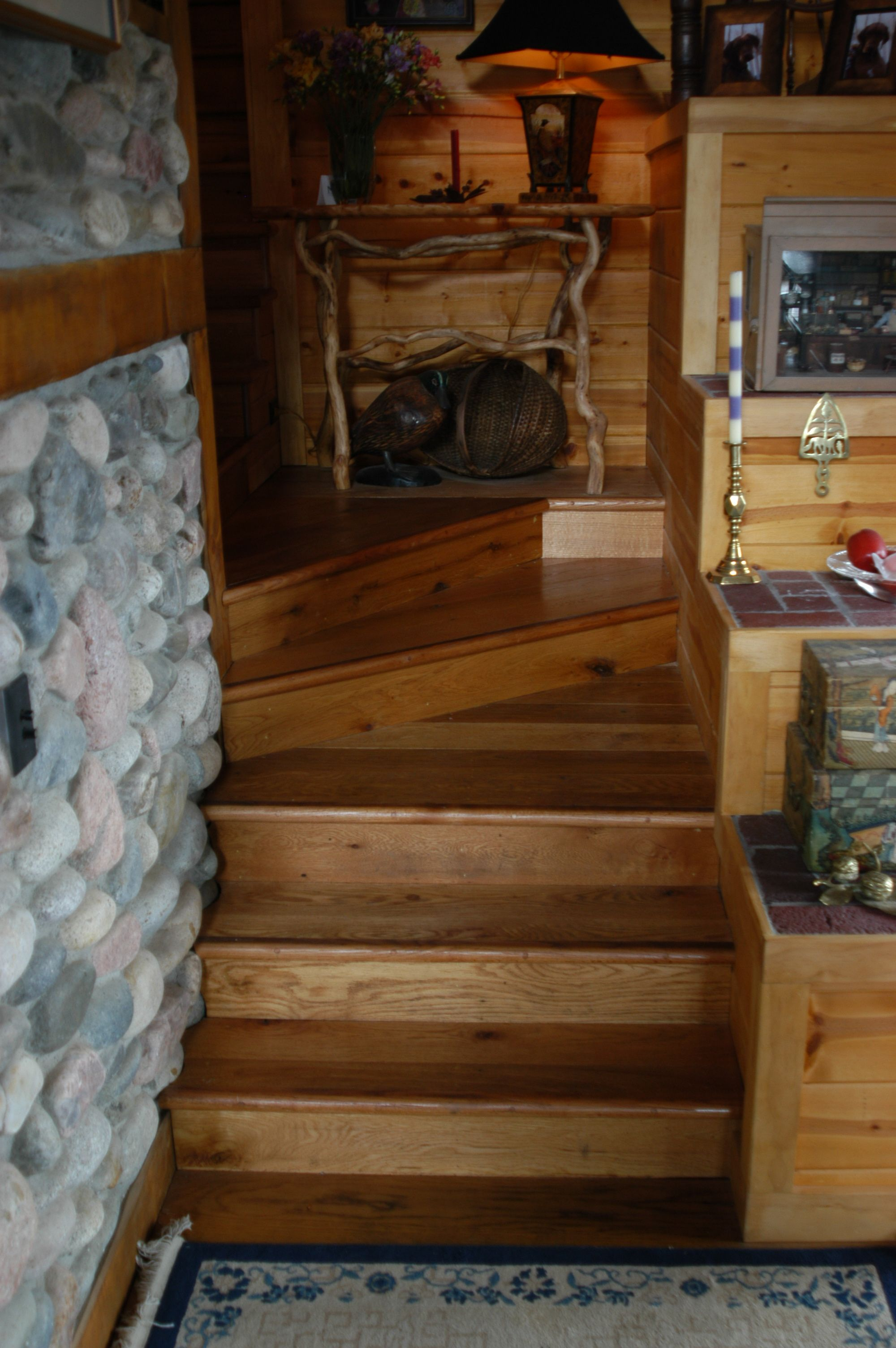 Best Rustic Style Stair Treads And Risers Made From Reclaimed 400 x 300