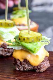 Gesunde kohlenhydratarme Super Bowl Party Foods   – Interesting Food Ideas & Ins…