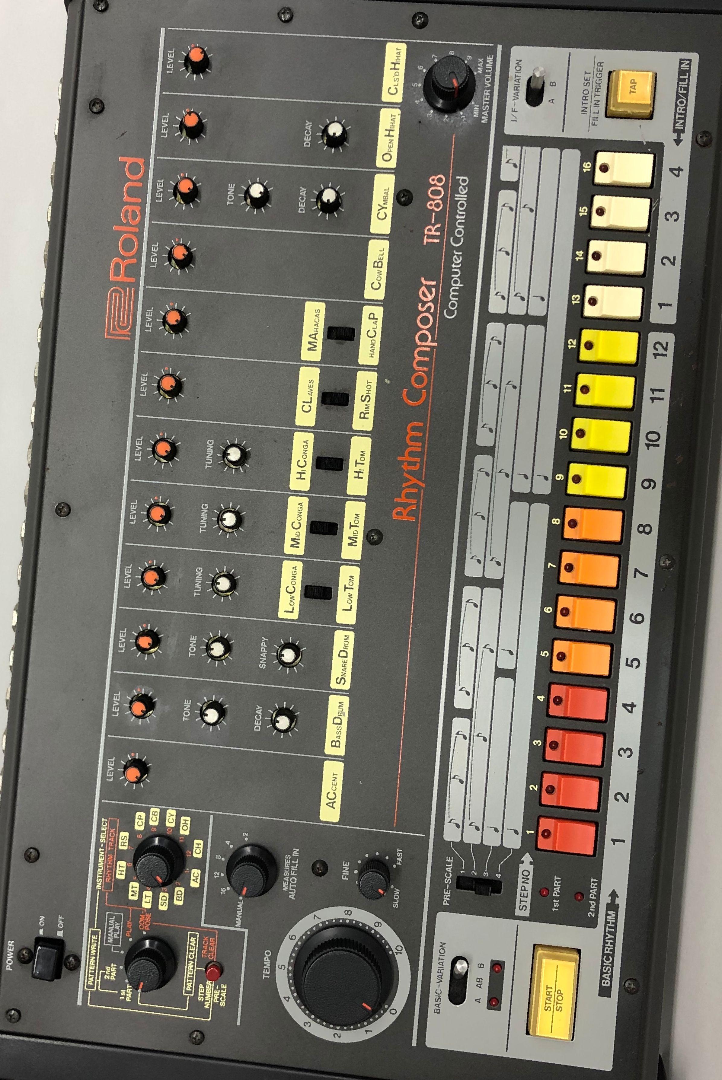 Happy 808 Day! | Drum Kits in 2019 | Drum machine, Home