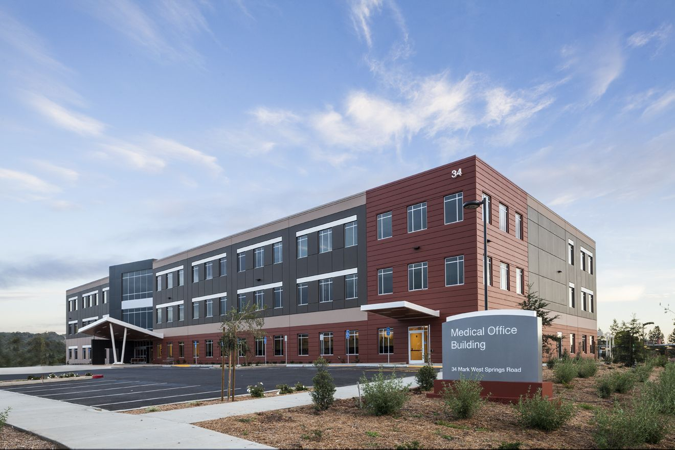 Architectural design for the Sutter Health Medical