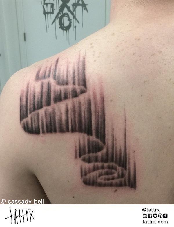 Geometric Tattoos Portland: Tattrx, Tattrix, Tattoo Search Engine, Cassady Bell Tattoo