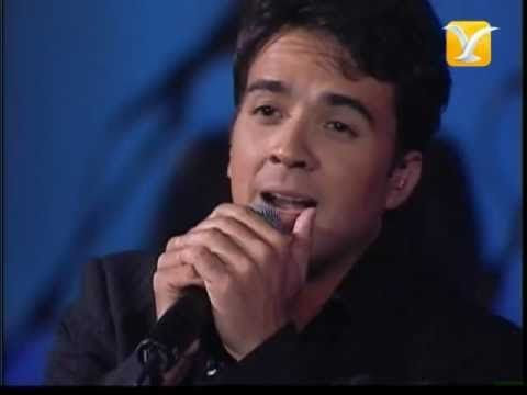 Luis Fonsi Imagíname Sin Ti Festival De Viña 2004 Youtube Luis Festival Concierto