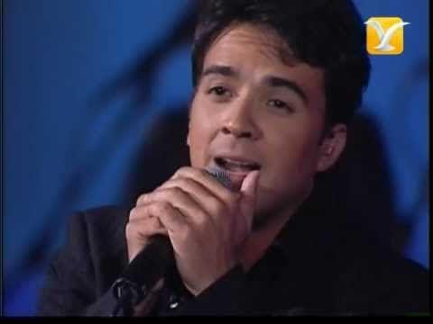 Luis Fonsi, Imagíname Sin Ti, Festival de Viña 2004 - YouTube