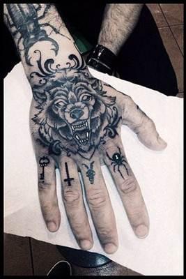 تاتو يد و قدم و جسم انواع الوشم و اجمل صور تاتو Tattoo Hand Tattoos For Guys Knuckle Tattoos Hand Tattoos For Women