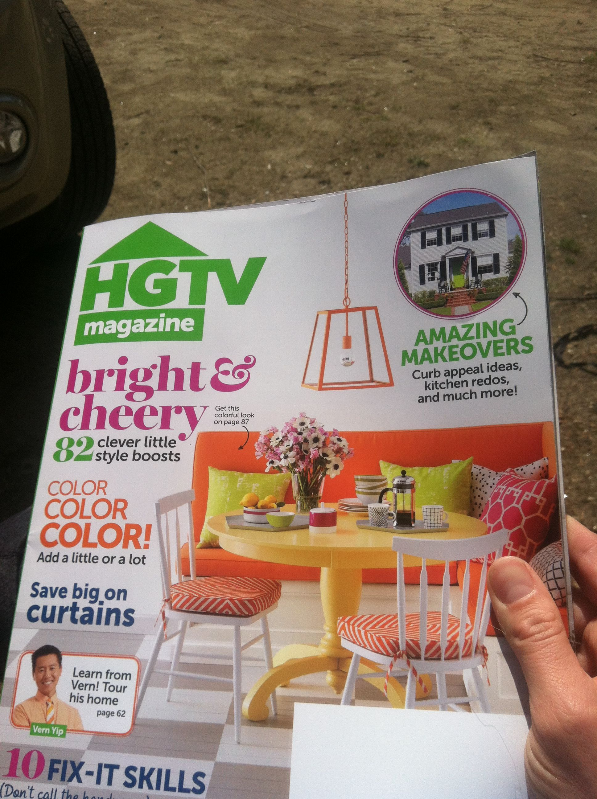 I love this magazine!!!!! Just arrived!