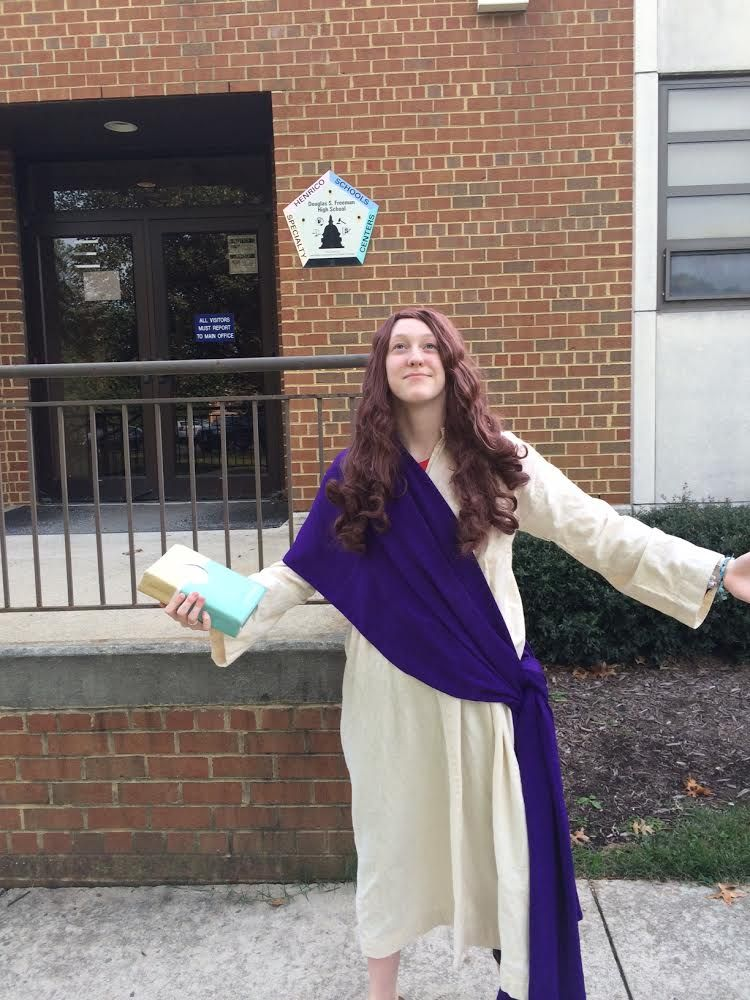 So hey guys! I was Jesus for superhero day at school and just wanted to share that with you okay bye! ~Riley Aiken