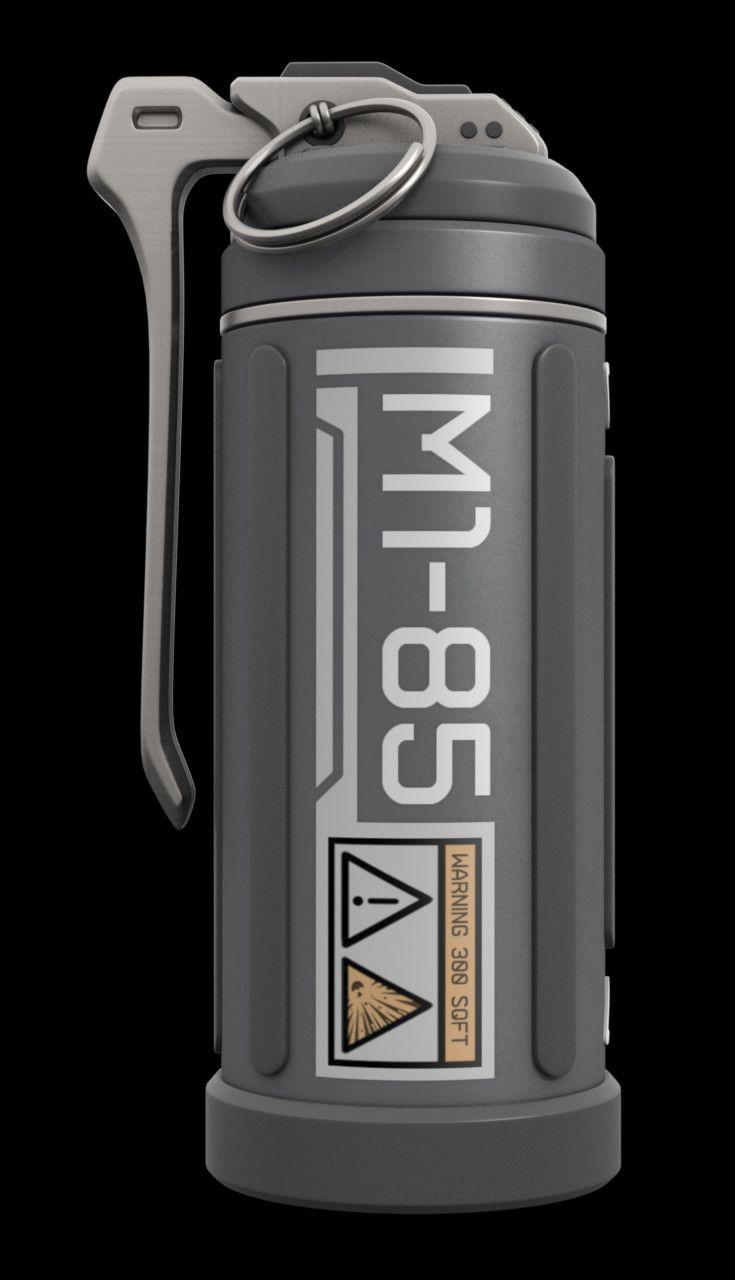 Grenade Accessories 3Ds - 3D Model