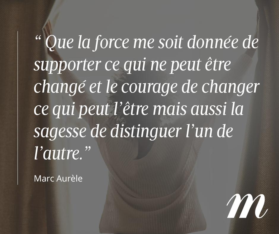 Citation Marc Aurèle Philosophe Vie Courage Force