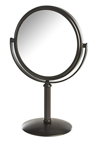 Models Choice Dualsided 5x1x Magnification Table Top Makeup Mirror