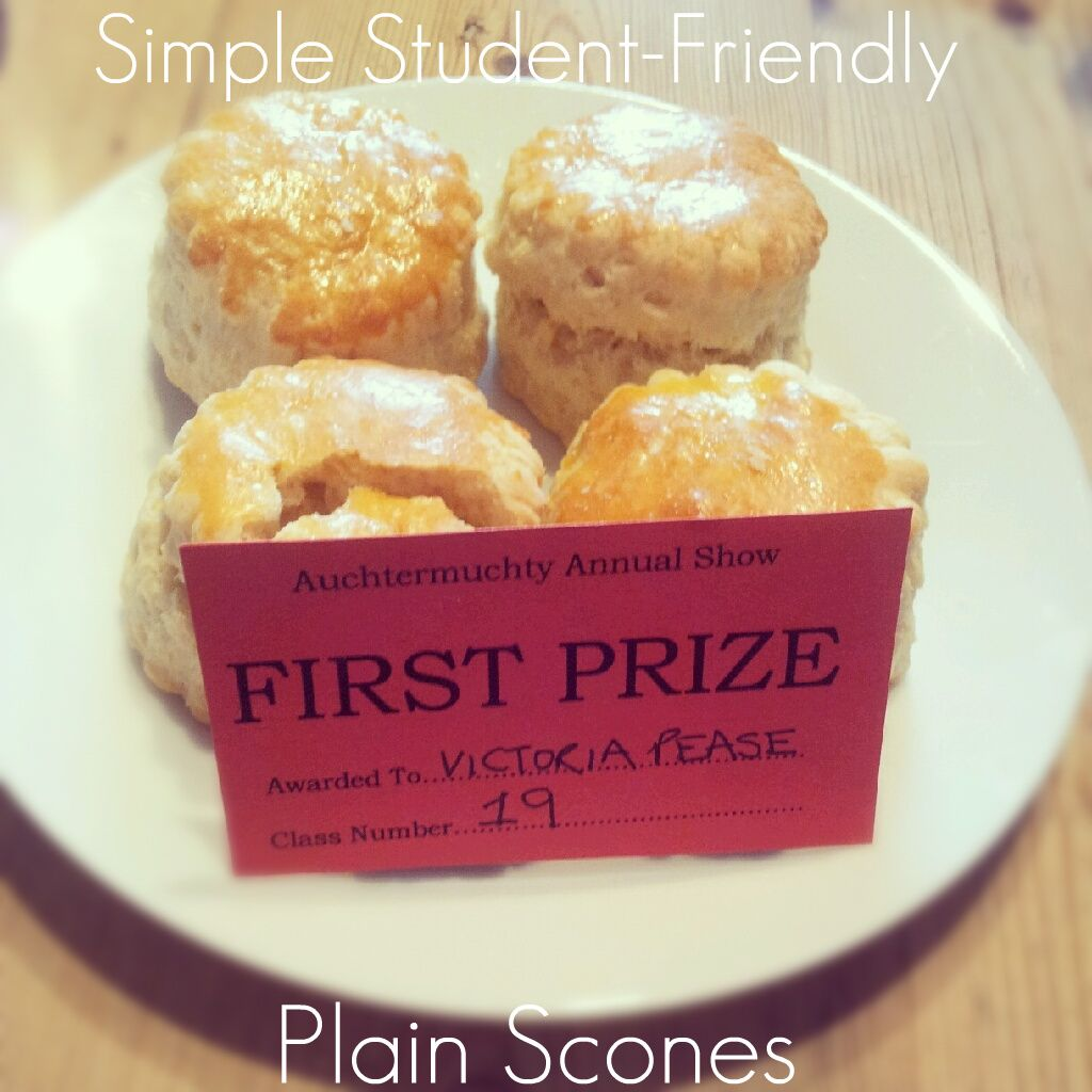 Simple StudentFriendly Plain Scones (With images) Food