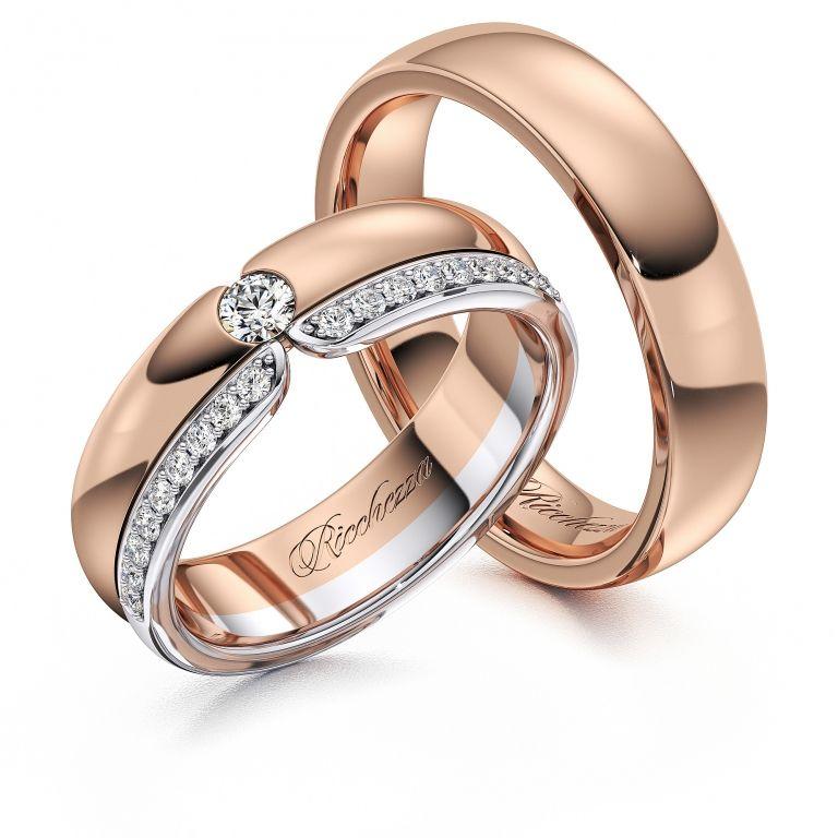 Обручальные кольца ERS63 — Ricchezza — ювелирные изделия   Yüzükler ... bb32afcdc6f