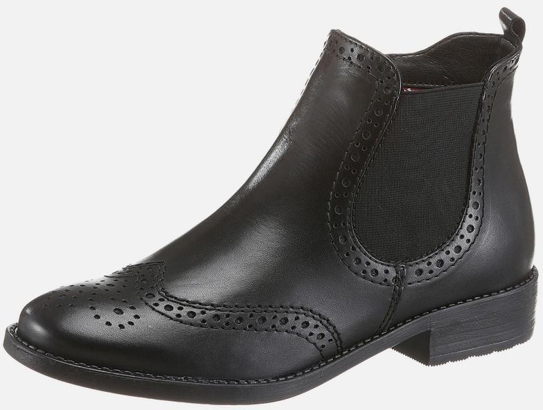 TAMARIS Chelsea boots in Zwart   ABOUT YOU   Zwart