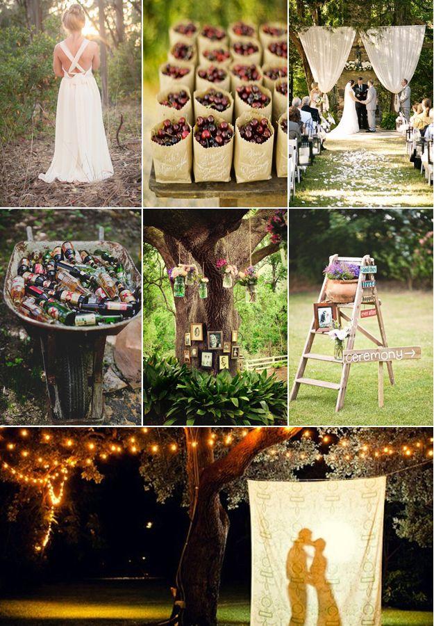 Creative and cute a backyard wedding, popular option for ...