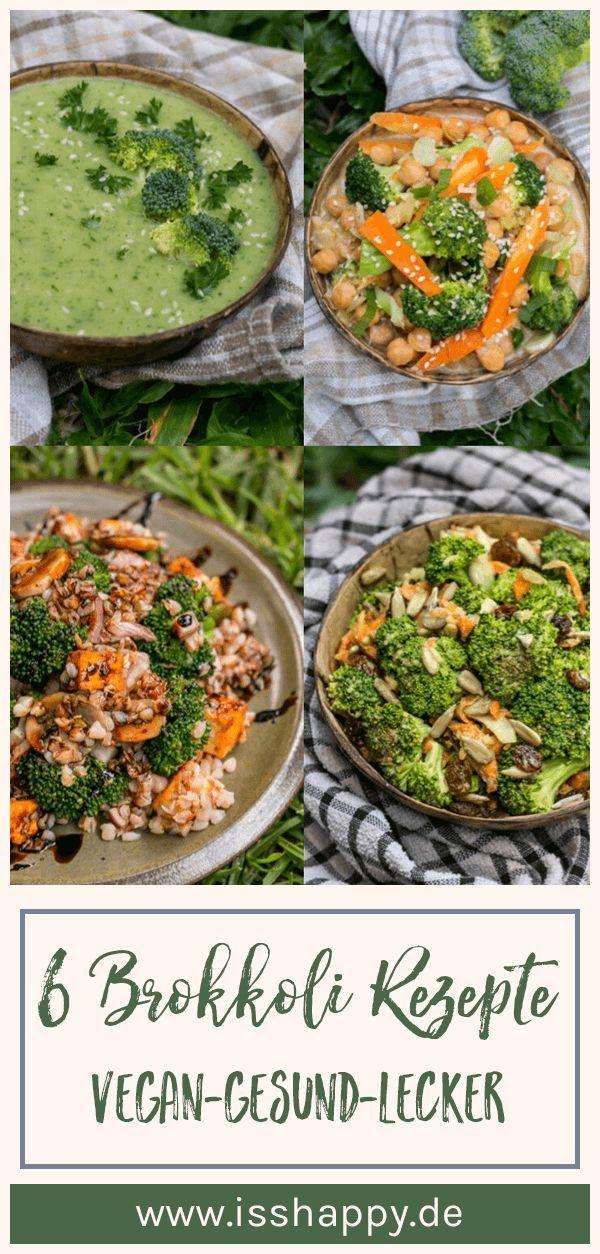 6 leckere und einfache Brokkoli Rezepte – vegan, bunt & gesund #veganerezepte
